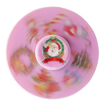Christmas Round EDC Toy Fidget Spinner - ROSE PÂLE