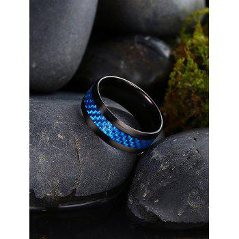 Weaving Shape Embellished Alloy Ring - 8 8