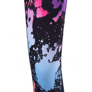 Splatter Paint Leggings - COLORMIX M