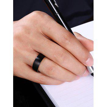 Vintage Alloy Circle Finger Ring - 8 8