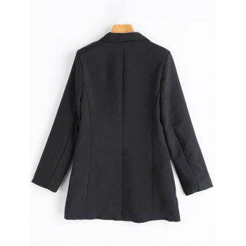 Double Breasted Tunic Blazer - M M