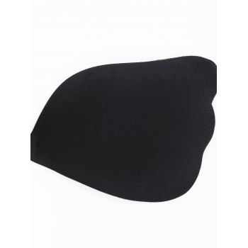 Invisible Wings-shaped Adhesive Bra - BLACK CUP C