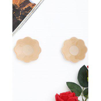 Floral Shape Adhesive Nipple Sticker - COMPLEXION ONE SIZE
