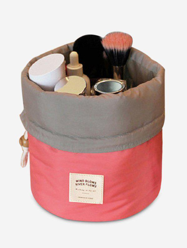 Drawstring Round Travelling Cosmetic Bag