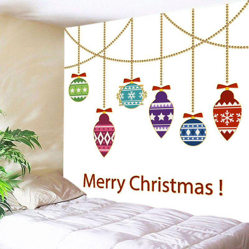 Merry Christmas Decorations Print Tapestry Wall Hanging Art waterproof merry christmas graphic pattern wall hanging tapestry