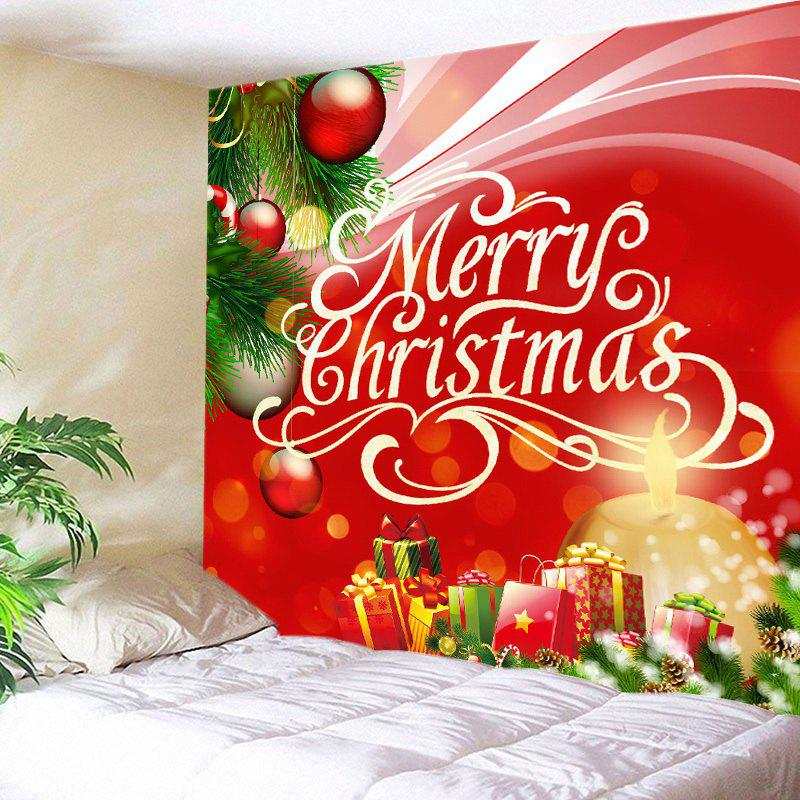 Christmas Gifts Baubles Print Tapestry Wall Hanging Art crafting christmas gifts
