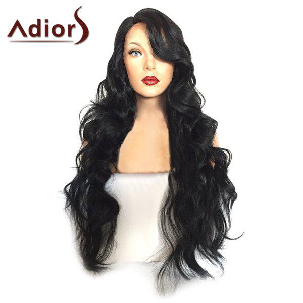 Adiors Long Side Parting Towheaded Loose Wave Synthetic Wig