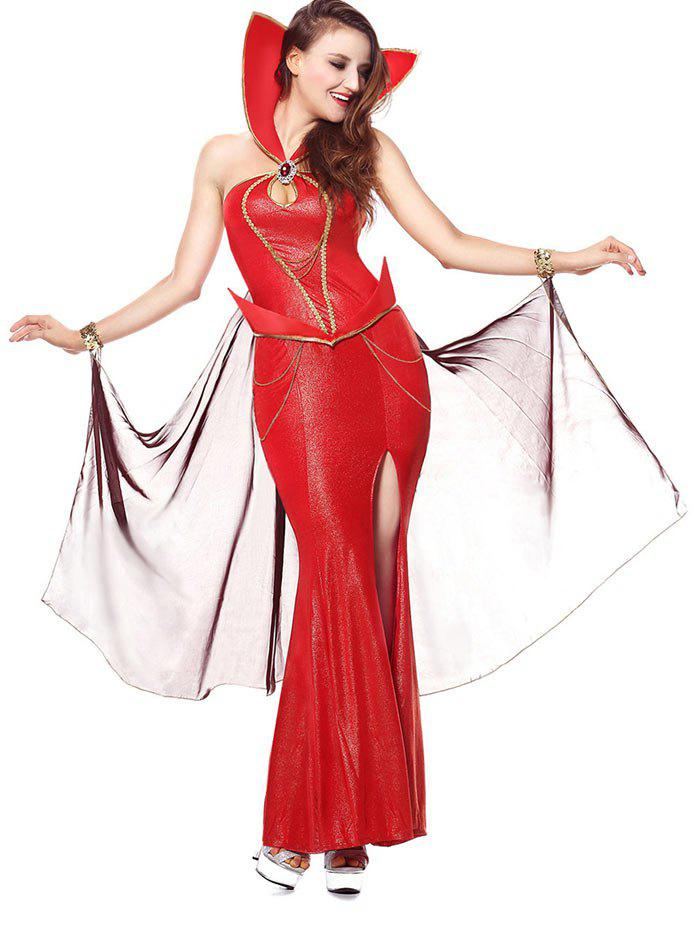 Costume de la reine du diable d'Halloween - Rouge ONE SIZE