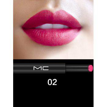 Multipurpose Moisture Long Lasting Press Lipstick - #02
