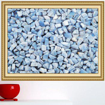 Pebbles Print Decorative Multipurpose Wall Art Sticker - CLOUDY 1PC:59*39 INCH( NO FRAME )