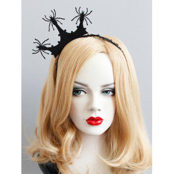 Halloween Spider Crown Lace Hairband