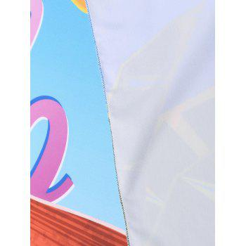 Hello Summer Rectangle Beach Throw - COLORMIX COLORMIX