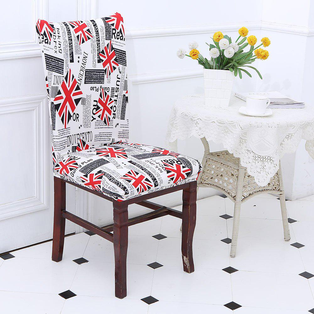 2018 Removable Union Jack Pattern Stretch Elastic Chair Cover ...