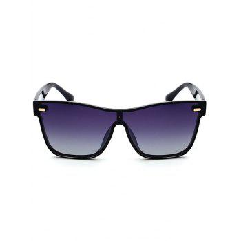UV Protection Conjoined Frame Sunglasses - GRAY