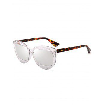 Eyebrow Design Cat Eye Sunglasses - TRANSPARENT TRANSPARENT