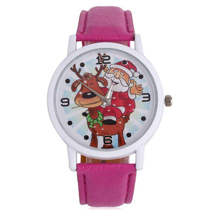 Christmas Deer Santa Face Number Watch - TUTTI FRUTTI