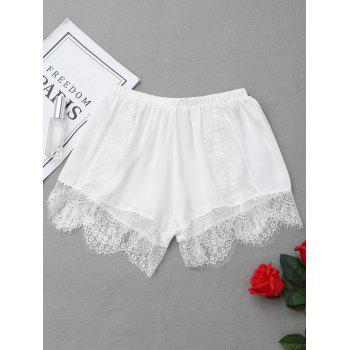 Lace Eyelash Safety Shorts