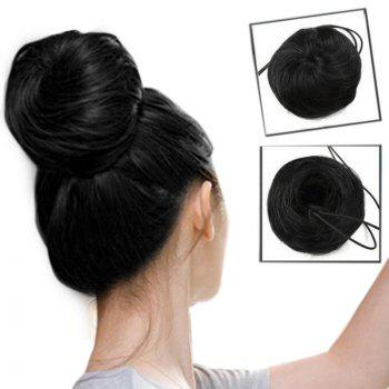 Short Chignons Hair Piece Synthetic Updo Bun Hair Extension
