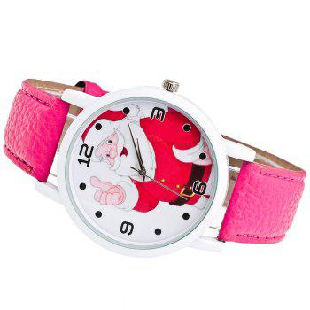 Christmas Santa Claus Face Number Watch - TUTTI FRUTTI