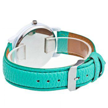 Christmas Santa Claus Face Number Watch - GREEN