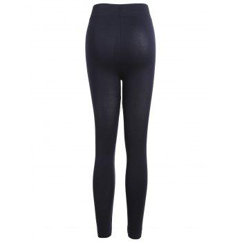 Leggings de sport coupés - Noir ONE SIZE