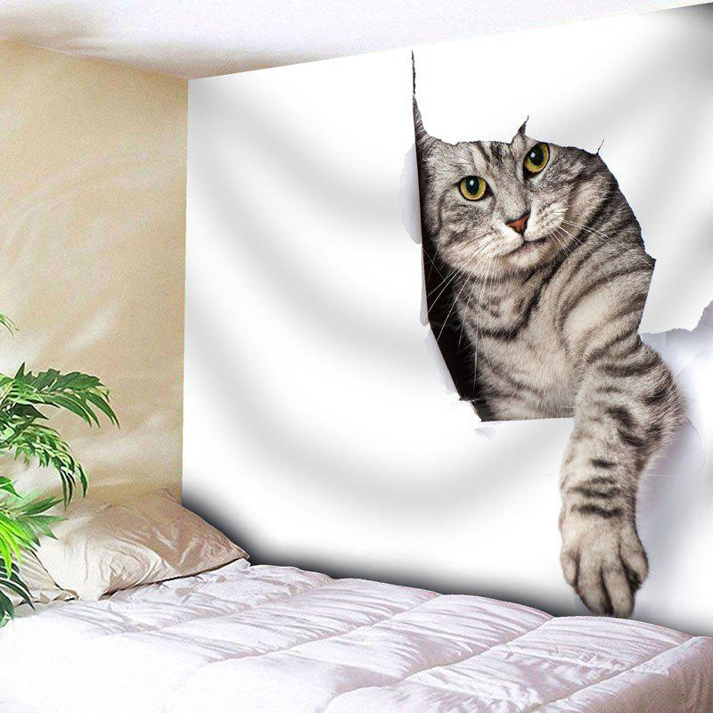 Cat Pattern Wall Hanging Animal Tapestry