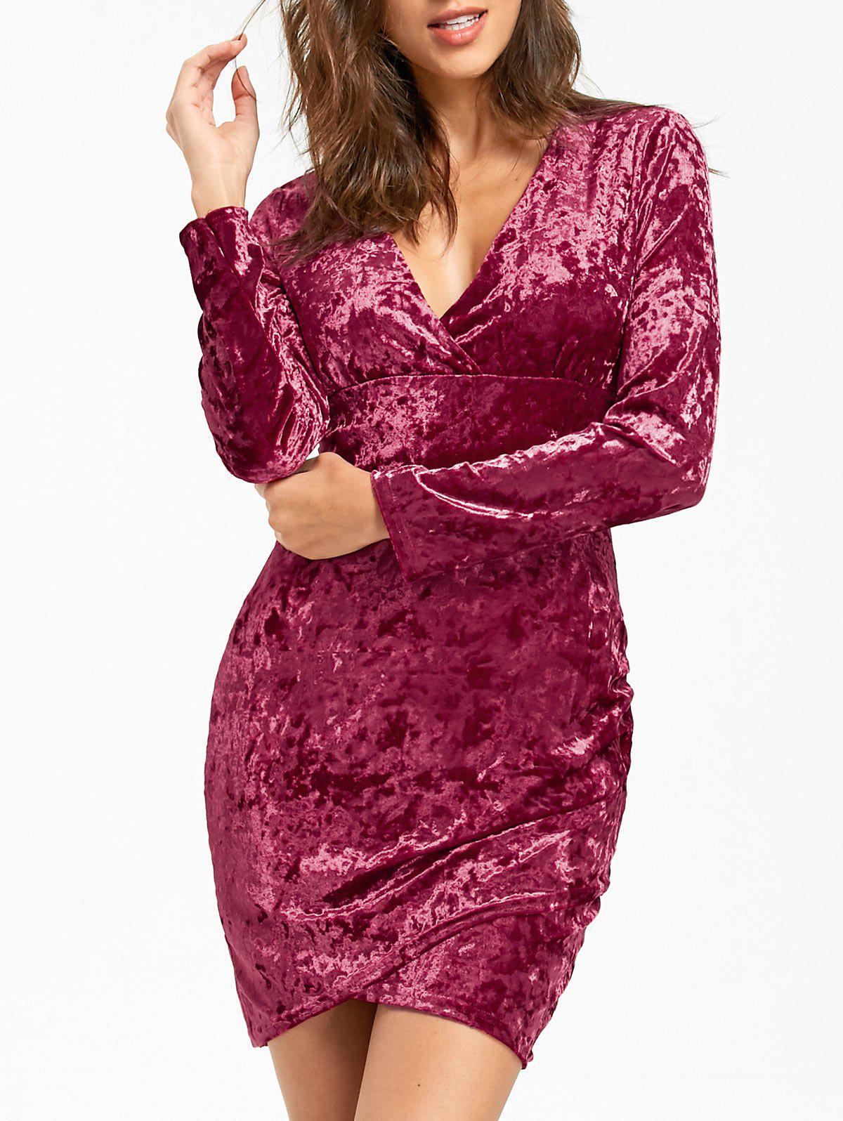 Robe mi-cérémonie - WINE RED XL