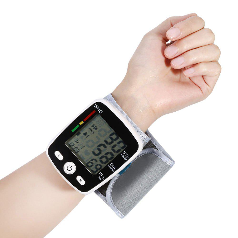 USB Digital Automatic Wrist Blood Pressure Monitor 650nm laser therapy watch therapeutic laser for high blood pressure blood clean wrist watch healthcare priceless