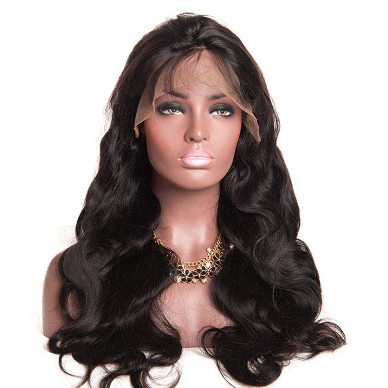 Free Part Fluffy Long Body Wave Lace Front Synthetic Wig adior 180 density centre part long body wave lace front synthetic wig