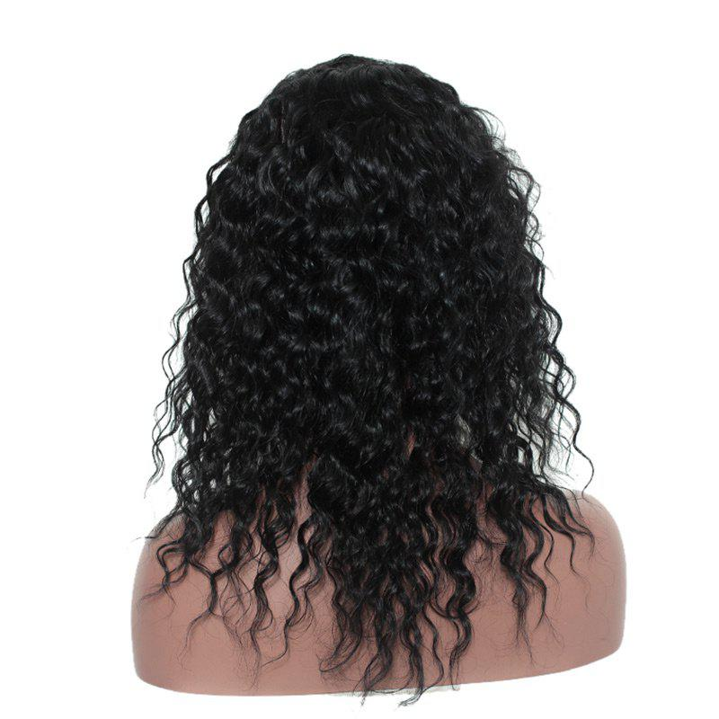 Long Free Part Shaggy Loose Curly Synthetic Lace Front Wig - NATURAL BLACK