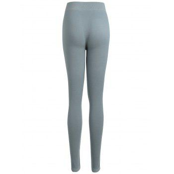 High Waisted Sport Leggings - SAGE GREEN SAGE GREEN
