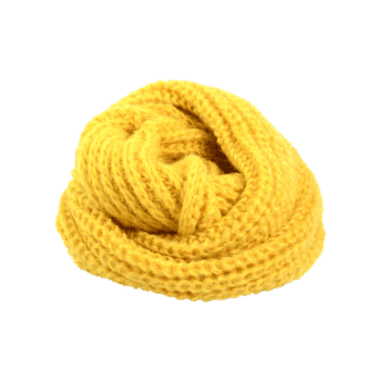Outdoor Thick Knitted Chunky Scarf -  GINGER