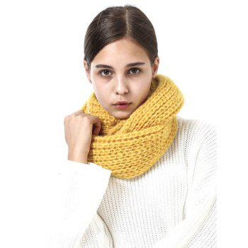 Outdoor Thick Knitted Chunky Scarf - GINGER GINGER