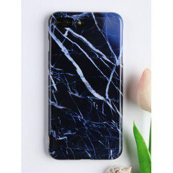 Marble Pattern Soft Cell Phone Case For Iphone - DEEP BLUE FOR IPHONE 7 PLUS