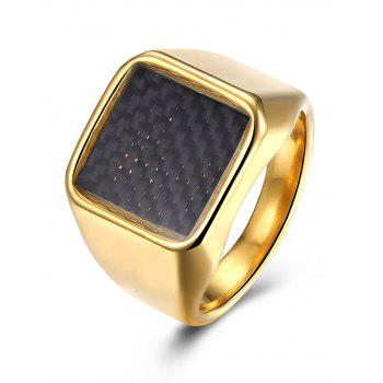 Antique Geometric Finger Ring - GOLDEN 7