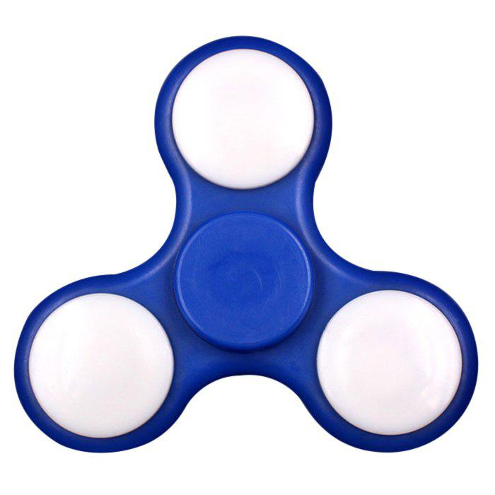 Fiddle Toy Plastic Fidget Spinner - BLUE