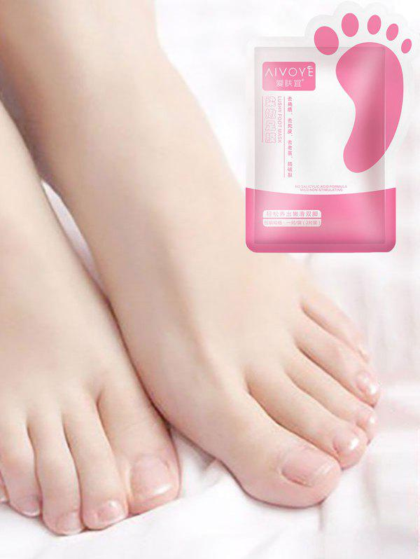 AIVOYE Removes Dead Skin Baby Foot Mask - WHITE