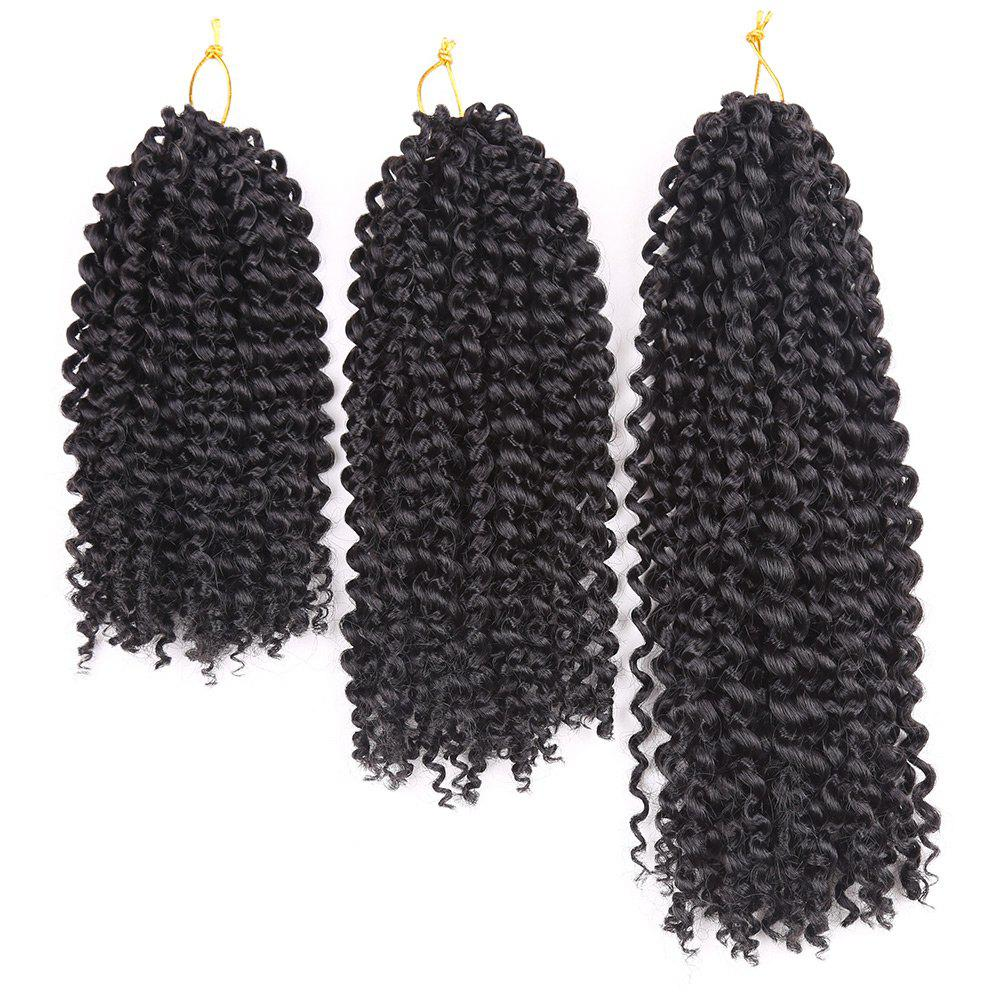 3Pcs Afro Kinky Curly Mali Bob Twist Braids Short Synthetic Hair Weaves 3pcs afro kinky curly mali bob twist braids short synthetic hair weaves