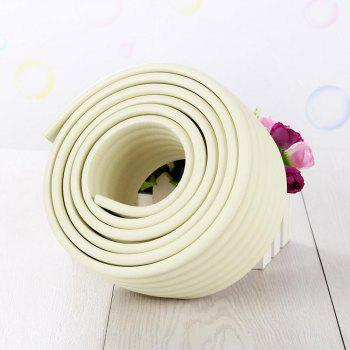 2M Baby Table Protector Flexible Foam Rubber Guard Strip - WHITE 200*8*0.8CM