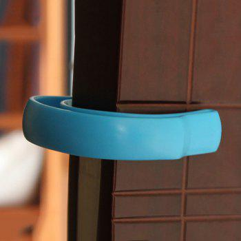 U Shape Baby Safety Gate Card Security Door Stopper Clip -  BLUE