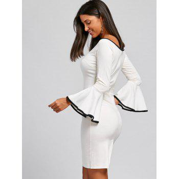Robe Bodycon - Blanc L