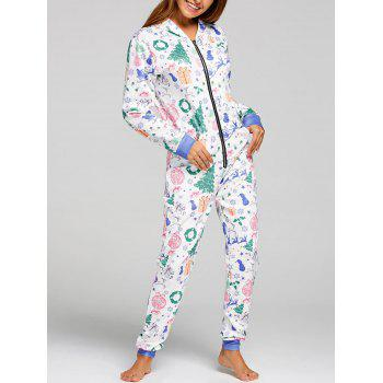 One Piece Christmas Pajama - COLORMIX L