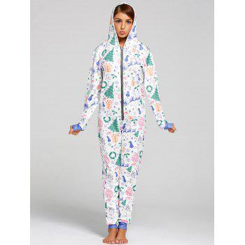 One Piece Christmas Pajama - L L