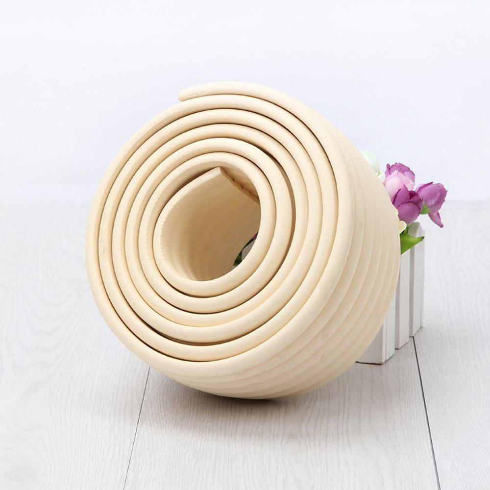2M Baby Table Protector Flexible Foam Rubber Guard Strip - OFF WHITE 200*8*0.8CM