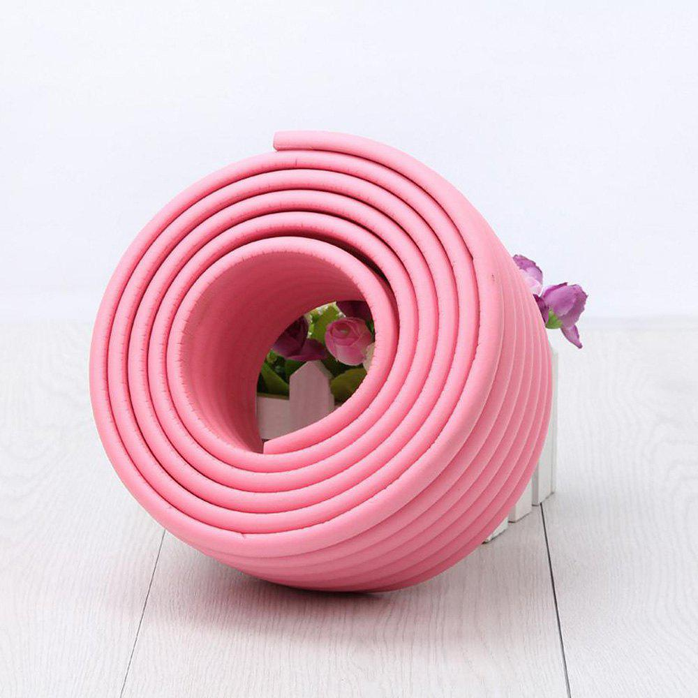 2M Baby Table Protector Flexible Foam Rubber Guard Strip - DEEP PINK 200*8*0.8CM
