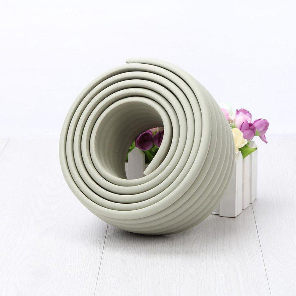 2M Baby Table Protector Flexible Foam Rubber Guard Strip - Gris 200*8*0.8CM