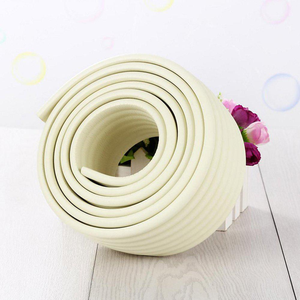 2 m Bande de Protection Rebord de Table en Mousse Souple pour Bébé - Blanc 200*8*0.8CM