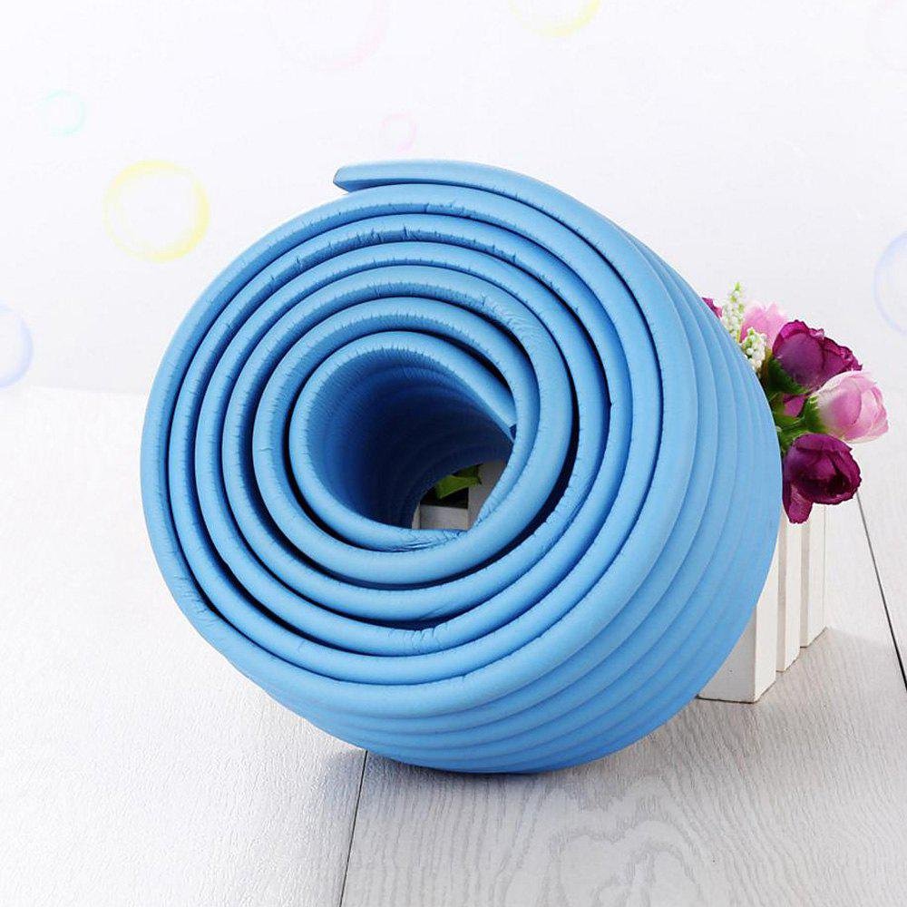 2M Baby Table Protector Flexible Foam Rubber Guard Strip - ICE BLUE 200*8*0.8CM