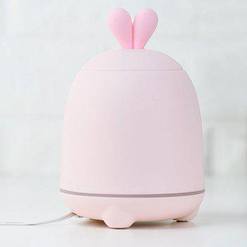 7 Colors Change Rabbit Design Air Humidifier - PINK