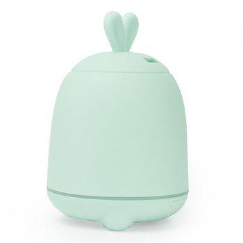 7 Colors Change Rabbit Design Air Humidifier - BLUE